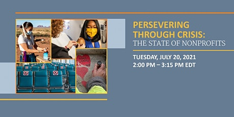Persevering Through Crisis: The State of Nonprofits tickets