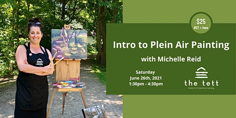 Intro to Plein Air Painting with Michelle Reid: AFTERNOON SESSION tickets