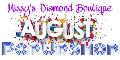August Pop Up Shop tickets