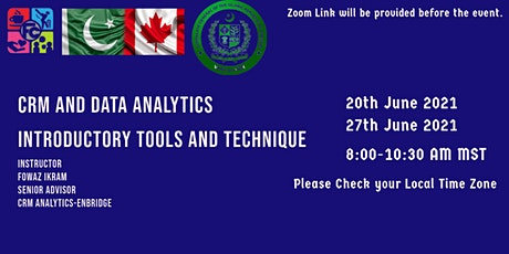 CRM and Data Analytics-Introductory Tools and Techniques. tickets
