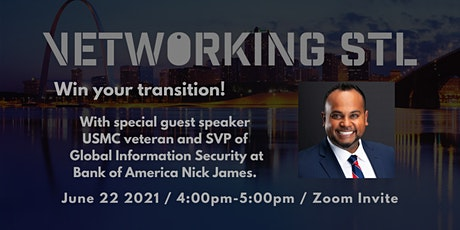 June Vetworking STL Win your transition with Nick James tickets