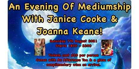 An Evening Of Mediumship With Janice Cooke & Joanna Keane tickets