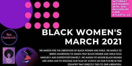 Black Women's March 2021! tickets