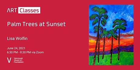 Palm Trees at Sunset tickets