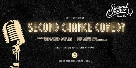 Second Chance Summer Comedy Nights in North Park tickets
