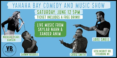 YaHaHa Bay Comedy and Music Show tickets
