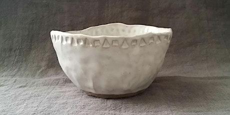 Build a Bowl | Pottery Workshop w/ Siriporn Falcon-Grey tickets