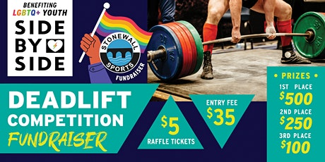 Deadlift Competition Fundraiser for LGBTQ+ Youth tickets
