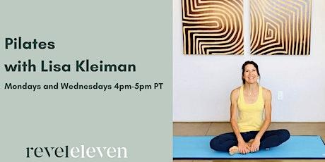 Pilates with Lisa Kleiman tickets