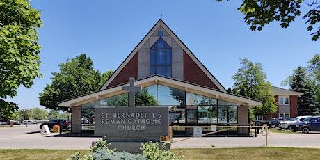 Sunday Mass (June 12-13) tickets