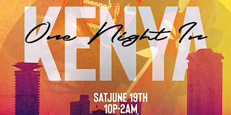 One Night in Kenya tickets
