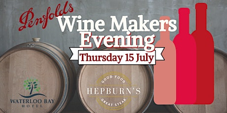 Penfold's  Wine Makers Evening tickets