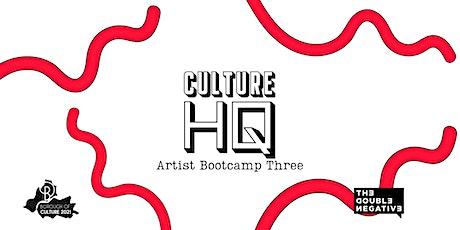 Artist Boot Camp 3 tickets