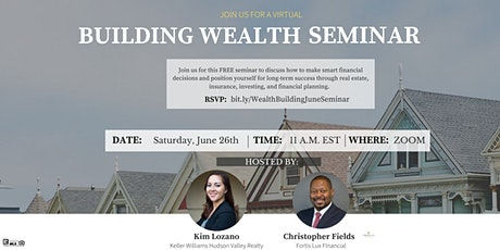 FREE Building Wealth Seminar tickets