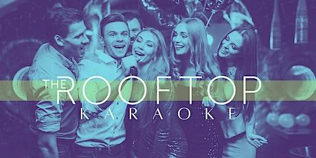 Rooftop Karaoke tickets