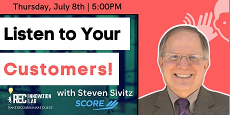 Don't Talk to Your Customers... Listen to Them! with Steven Sivitz of SCORE tickets