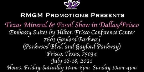 Texas Mineral & Fossil Dallas/Frisco Show tickets