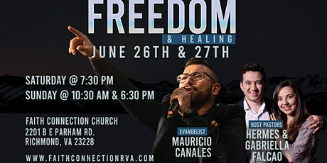 Freedom & Healing tickets