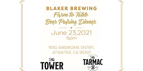 Farm to Table  Craft Beer Pairing Dinner tickets
