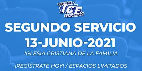 Servicio ICF - 13 de junio de 2021 - Segundo Servicio - 11AM entradas