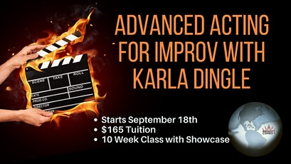 Advanced Acting for Improv with Karla Dingle tickets