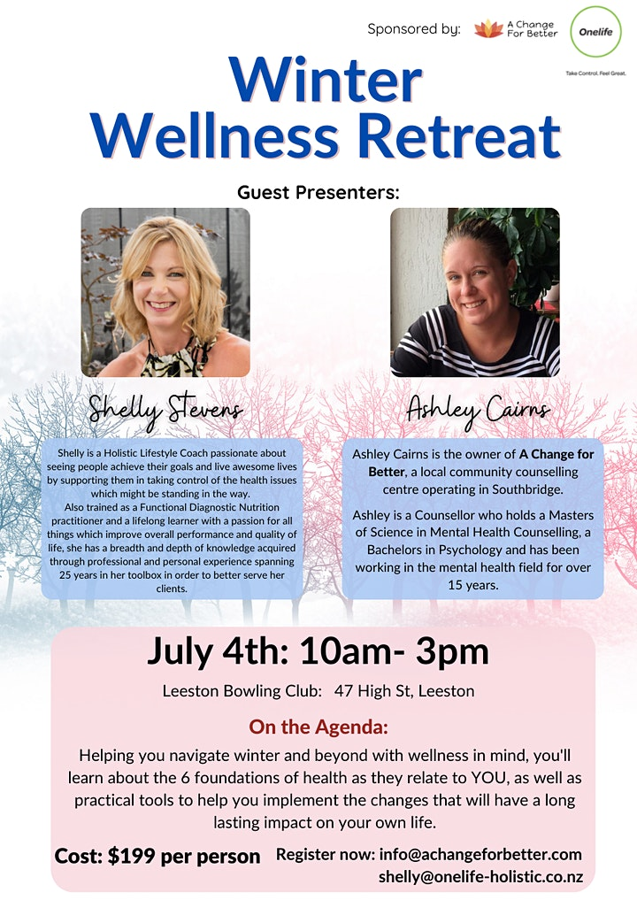 Winter Wellness Retreat image