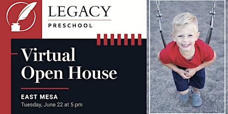 East Mesa Preschool Virtual Open House - June 22 tickets