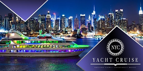 #1 New York City Boat Party on Luxurious Yacht Infinity tickets
