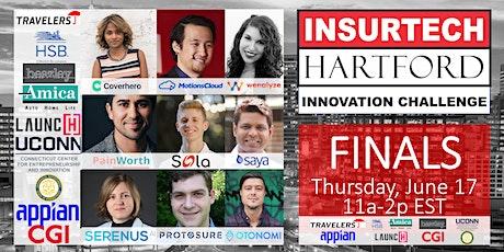 2021 InsurTech Hartford Innovation Challenge Finals & Awards tickets