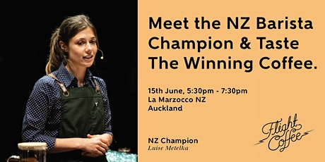 Meet The NZ Barista Champ And Taste The Winning Coffee - Auckland tickets