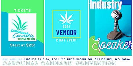 Carolinas Cannabis Convention tickets