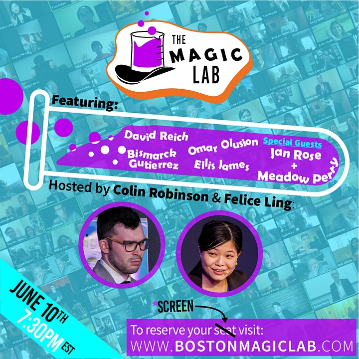 The Magic Lab: A *Virtual* Open Mic Magic Show image