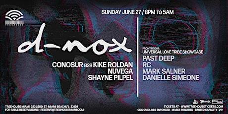 D-NOX @ Treehouse Miami tickets