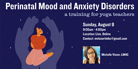 Perinatal Mood & Anxiety Disorders: a training for yoga teachers tickets