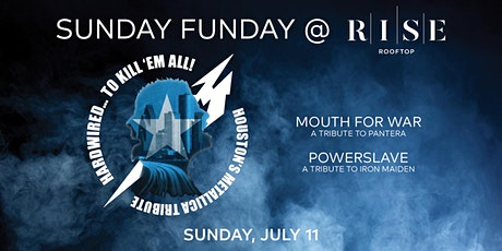 HARDWIRED... TO KILL EM ALL: Metallica Tribute @ RISE - Sunday July 11th tickets