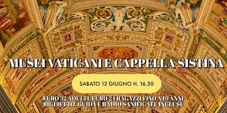 Visita guidata musei vaticani biglietti