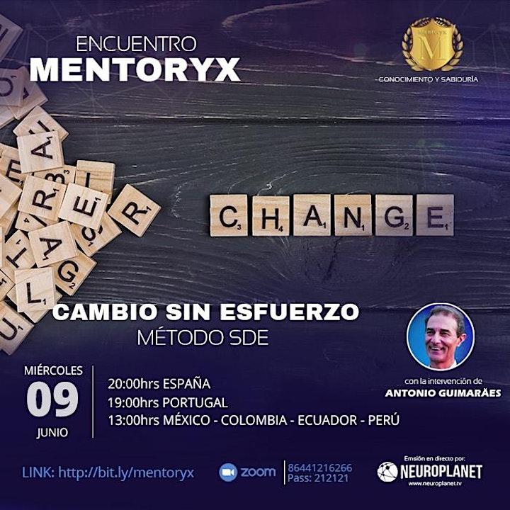 Imagen de Encuentro Mentoryx con Antonio Guimaraes