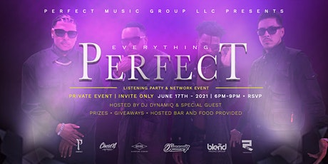 Everything Perfect: Listening Party & Networking Event tickets