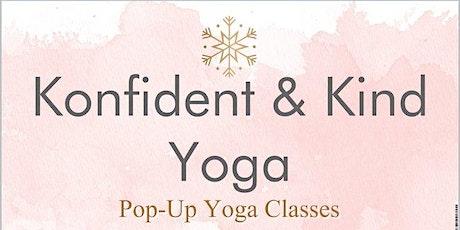 Konfident & Kind Yoga - June Wine Down tickets