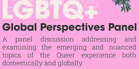 LGBTQ Global Perspectives Panel tickets
