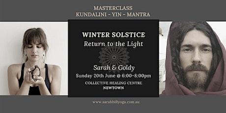 Masterclass - Winter Solstice - Return to the Light tickets