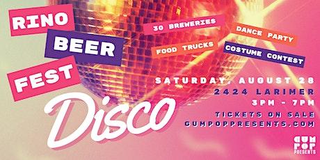 RiNo Beer Fest 2021 tickets