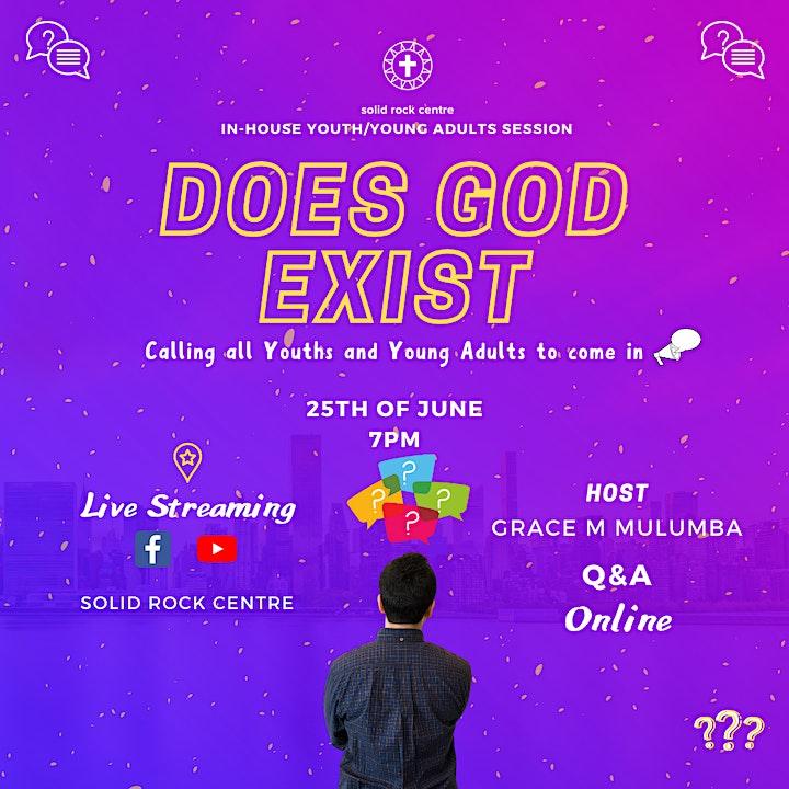 DOES GOD EXIST image