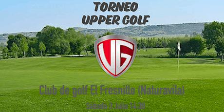 Torneo Upper Golf entradas