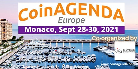 CoinAgenda Europe 2021 (presented by CoinAgenda and SGF) billets
