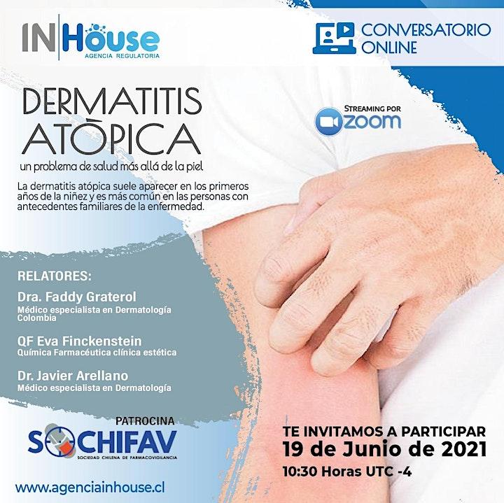 Imagen de Conversatorio Online: Dermatitis Atópica