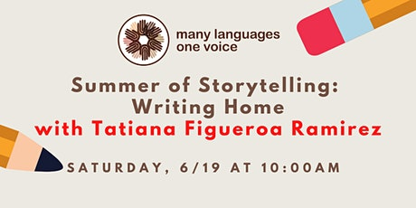 Summer of Storytelling: Writing Home tickets