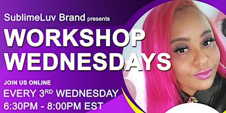 Workshop Wednesdays | Mental Health tickets