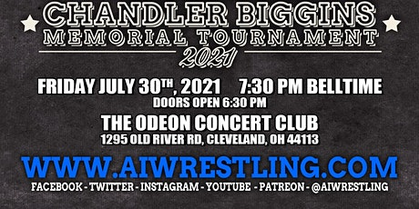 "AIW Presents ""Chandler Biggins Memorial Tournament"" tickets"