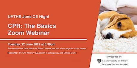 CPR: The Basics | Zoom Webinar tickets